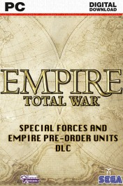 Empire : Total War - Special Forces and Empire Pre-Order Units DLC